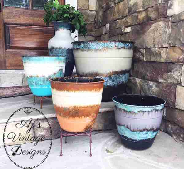 My Patina Outdoor Planters