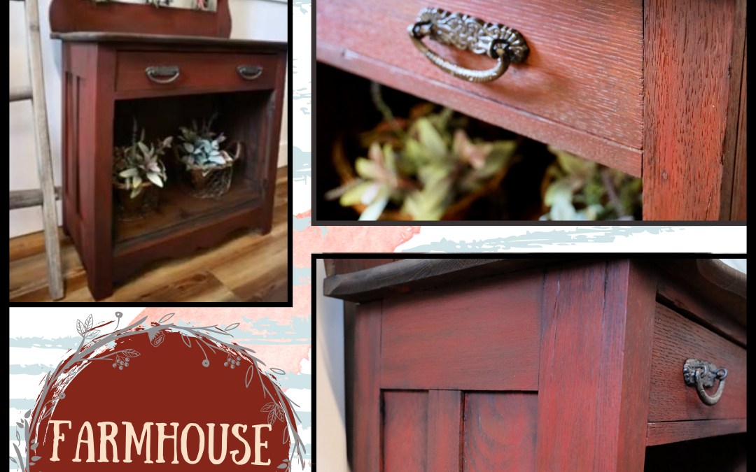 How to get a Weathered Wood Look using a Blend of Paint and Gel Stain – Tutorial & Video
