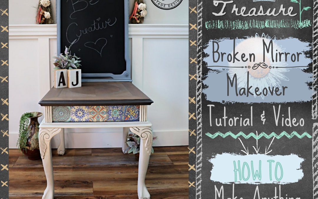How To Make Anything Into a Chalkboard using Dixie Belle Chalk Mineral Paint – Easy Tutorial & Video